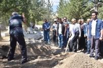 ALI AKYÜZ - Vali Su, Emekli Vali-Müsteşar Yalçın'ın Cenaze Törenine Katıldı