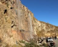 ŞELALE - Yaşayan Kayalıklar Şelalesi Öğrencilerin İlgisini Çekiyor