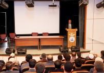 Ahlat'taki Din Görevlilerine Konferans