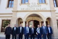 MEHMET GELDİ - AK Parti Yerel Yönetimler Başkan Yardımcısı Geldi'den Başkan Arslan'a Ziyaret