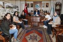 ASÜ Öğrencileri Başkan Yazgı İle Görüştü