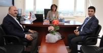 KİMLİK KARTI - Başkan Ertürk'ten Protokol Ziyaretleri