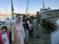 İÇMELER - Bodrum Ve Marmaris'te 113 Göçmen Yakalandı