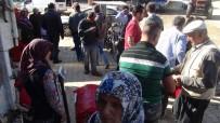 KIRMIZI BİBER - Ev Hanımları Salçalık Biber Alma Telaşında