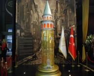 GALATA KULESI - Galata Kulesi'nin 157 Kiloluk Altın Maketi Yapıldı