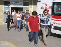 ADAM YARALAMA - Gaziantep'te Polisle Girdiği Çatışmada Yaralanan Zanlının Yakınları Adliyeye Sevk Edildi