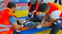 HASTANELER BİRLİĞİ - Hastanede Yapılan Tatbikat Gerçeğini Aratmadı