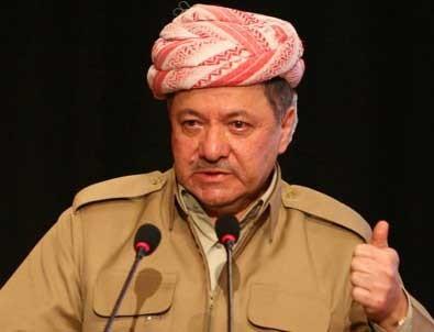 Barzani'den küstah referandum şartı