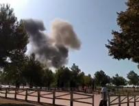 SAVUNMA BAKANLIĞI - İspanya'da askeri uçak düştü!