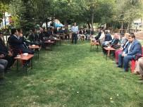 BEYIN FıRTıNASı - Kaymakam Özcan Vatandaşlarla Bir Araya Geldi
