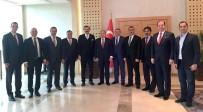 DEMOKRAT PARTI - Kayso Başkanı Büyüksimitci TOBB Heyeti İle Moldova'da Temaslarda Bulundu