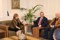 FATMA ŞAHIN - KKTC Turizm Ve Çevre Bakanı Fikri Ataoğlu, Fatma Şahin'i Ziyaret Etti