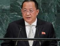 KİM JONG UN - Kuzey Kore'den ABD'ye sert tepki: Ateş topu ile karşılık vereceğiz