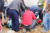 AFAD - Merdiven Boşluğuna Düşen İşçi Kurtarıldı