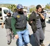 KAÇıŞ - Muğla'da Yakalanan 4 PKK'lı Terörist Adliyede