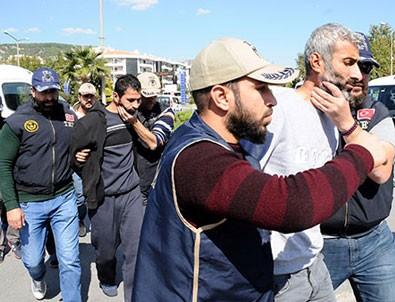 Muğla'da yakalanan 4 terörist tutuklandı
