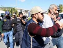 KAÇıŞ - Muğla'da yakalanan 4 terörist tutuklandı