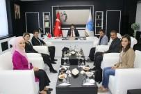 YAKUP DOĞAN - Rektör Karacoşkun TEMA İl Temsilcisi Ahmet Özcan'ı Kabul Etti