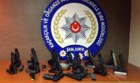 RUHSATSIZ SİLAH - Şanlıurfa Polisinden Nefes Kesen Operasyon