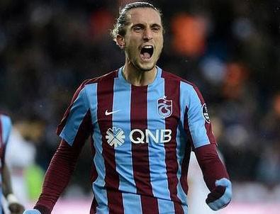 Trabzon Yusuf Yazıcı için düğmeye bastı