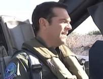 ALEKSİS ÇİPRAS - Yunan Başbakanı Çipras F-16 ile Ege'de uçtu!