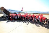 MEHMET FEVZİ DÖNMEZ - 180 Öğrenci 'Biz Anadoluyuz Projesi' İle İlk Kez Uçağı Bindi