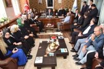 GENÇLİK KOLLARI - AK Parti Yönetiminden Başkan Üzülmez'e Ziyaret