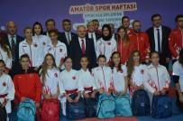 MİLLİ SPORCULAR - Amatör Spor Haftası'nda Amatör Spor Kulüplerine Malzeme Yardımı Ve Ödül Töreni