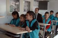 İKLİM DEĞİŞİKLİĞİ - Ankara'da Öğrenciler Deprem Simülasyonunda Eğitim Aldı