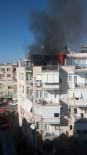 ŞEHİT BİNBAŞI - Antalya'da Ev Yangını Mahalleyi Sokağa Döktü