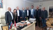 BAŞKONSOLOSLUK - Asimder'den Azerbaycan Konsolosu Gadalı'ya Ziyaret