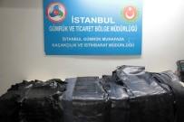 GÜMRÜK MUHAFAZA EKİPLERİ - Atatürk Havalimanı'da Yılan Ve Timsah Derisi Yakalandı