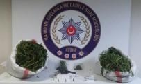 METAMFETAMİN - Aydın'da 7,4 Kilo Esrar Yakalandı