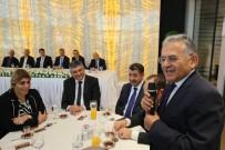 SERBEST BÖLGE - Başkan Dr.Memduh Büyükkılıç Kayseri Serbest Bölge İş Adamları Derneği İstişare Toplantısına Katıldı