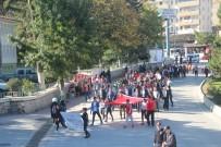 ATATÜRK KAPALI SPOR SALONU - Bilecik'te Amatör Spor Haftası Kutlama Yürüyüşü Düzenlendi