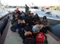 ASSOS - Çanakkale'de 46 Mülteci Yakalandı