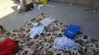 GÜLPıNAR - Damdaki Çantadan 410 Paket Esrar Çıktı