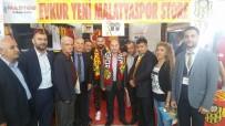 GEVREK - Gevrek, MASTÖB Yönetimine Evkur Yeni Malatyaspor Stadında Plaket Verdi