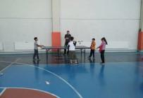 HASAN ERDOĞAN - Hisarcık'ta Ortaokul Ve Liseler Arası Masa Tenisi Turnuvası