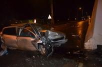 DOĞUBEYAZıT - Iğdır'da Trafik Kazası Açıklaması 1 Yaralı