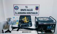 MUTFAK TÜPÜ - Kaçak Kazı Yapan 5 Kişi Yakalandı