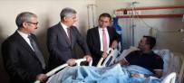 SUİKAST GİRİŞİMİ - Kahraman Binbaşı'ya Başsavcı'dan Ziyaret