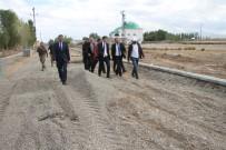 BAŞAKŞEHİR BELEDİYESİ - Malazgirt Belediyesinden Yol Yapım Çalışması
