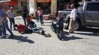 İBRAHIM YıLDıZ - Manavgat'ta Motosiklet Kazaları Açıklaması 4 Yaralı