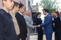 ÇAM SAKıZı - Mardin Emniyet Müdürü Onar, Personelini Mutlu Günlerinde Yalnız Bırakmıyor