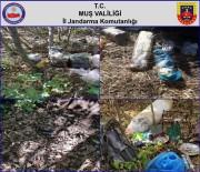 PLASTİK PATLAYICI - Muş'ta Terör Örgütüne Bir Darbe Daha