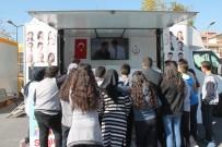 DOKUNMATIK EKRAN - Narkotik Eğitim Tır'ı Zeytinburnu'nda