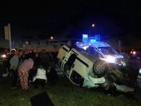 Rize'de Trafik Kazası Açıklaması 6 Yaralı