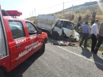 Siirt'te Trafik Kazası Açıklaması 2 Ölü, 6 Yaralı