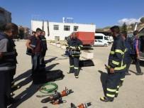 Şırnak Belediyesi İtfaiye Ekipleri İle AFAD Ortak Eğitim Yaptı